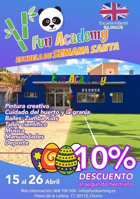 Actividades Semana Santa Fun Academy
