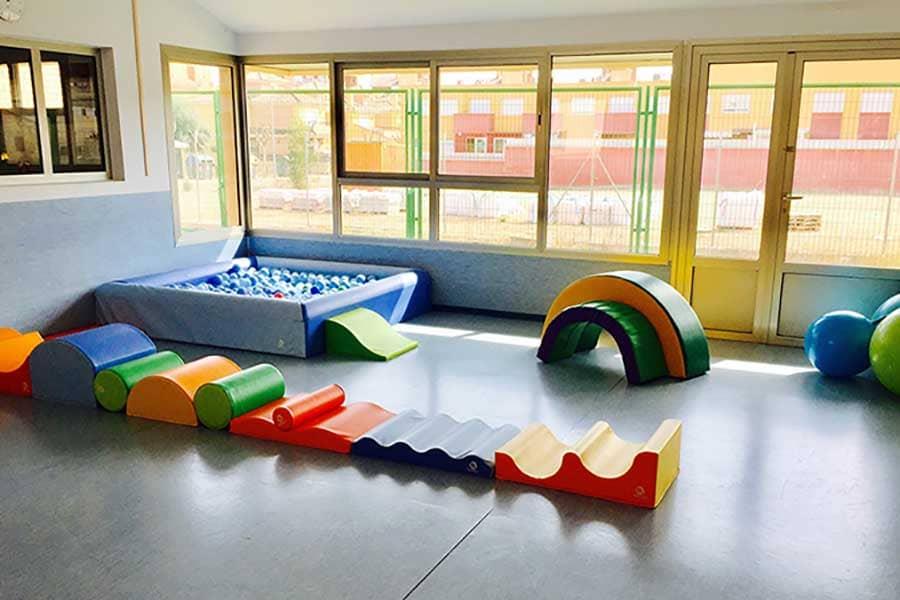Sala de psicomotricidad de Fun Academy