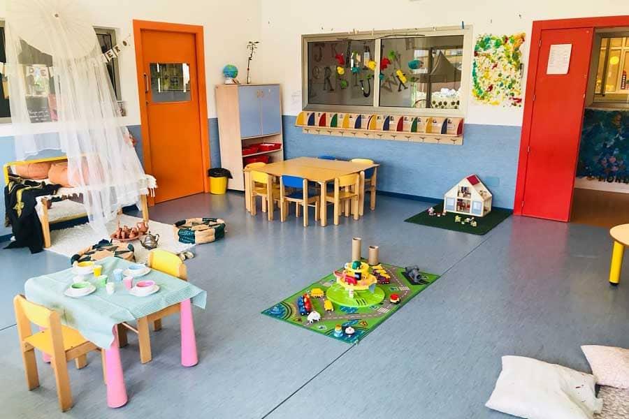 Sala de juegos en Fun Academy