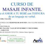 Curso de masaje infantil en Fun Academy Murcia