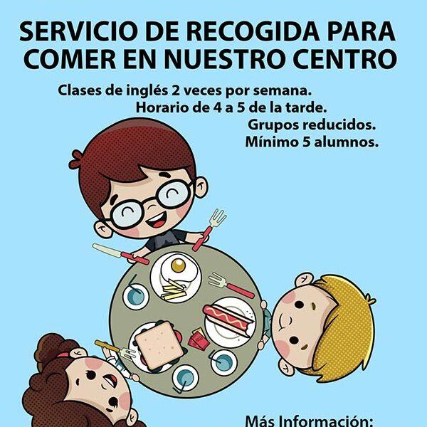Servicio de recogida para comer en Fun Academy
